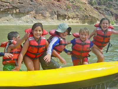 5 Day Green River Family Trips