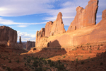 Park Ave in Arches National Park moab ut