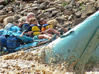 Cataract Caynon Rafting by Motor boat