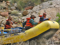 Colorado River Rafting by oarboat