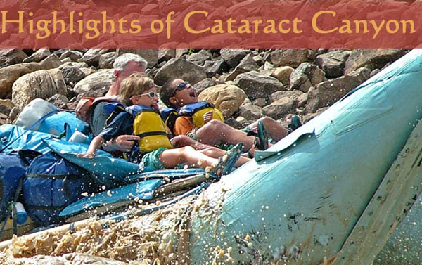 Cataract Canyon Rafting by Motor boat