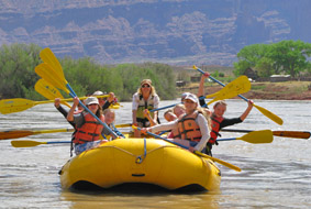 Family Rafting Trips on the Colorado River