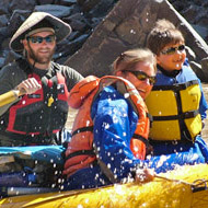 Family River Rafting on the Green River