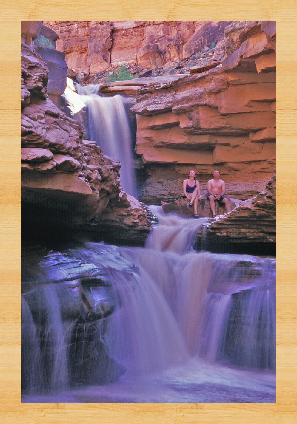 waterfalls in Cataract Canyon