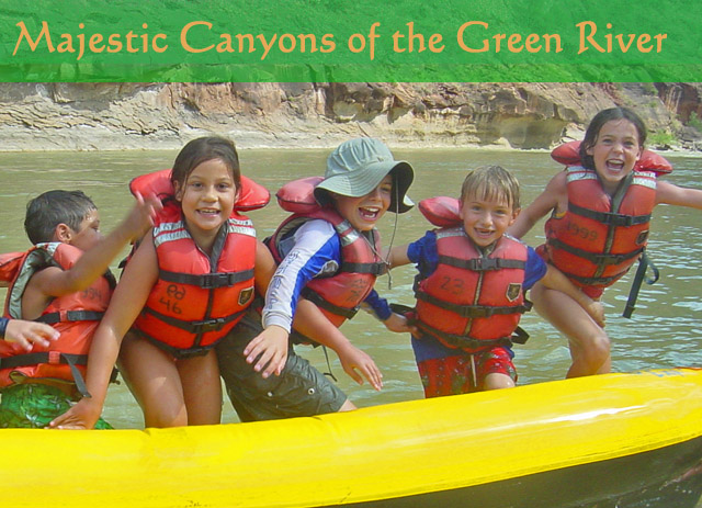 The Majestic Canyons of the Green River