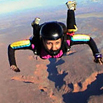 Sky Diving in Moab Utah