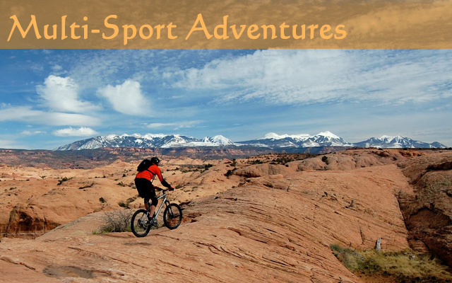 Multi Sport Adventures in Utah