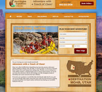 New River Rafting Website