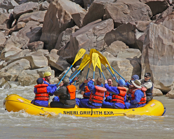 Westwater Canyon Rafting in March 2013