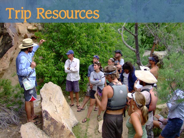 River Trip Resources