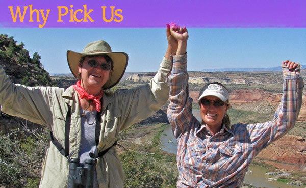 Why Pick Sheri Griffith River Expeditions