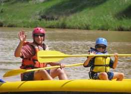 Yampa River Rafting Fun in IK