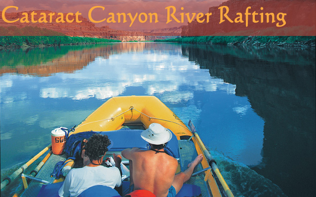 Rafting Cataract Canyon on the Colorado River