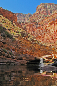 Dark Canyon on Colorado River