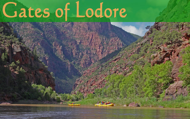 Gates of Lodore on the Green River