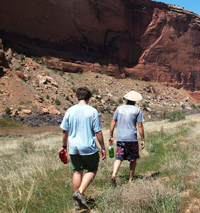 Guided Hiking in Moab