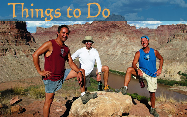 Moab UT, Activities