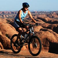 Mountian Biking in Moab